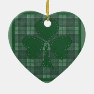 Saint Patrick's Day collage #17 Christmas Tree Ornaments