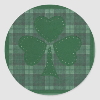 Saint Patrick's Day collage #17 Round Sticker