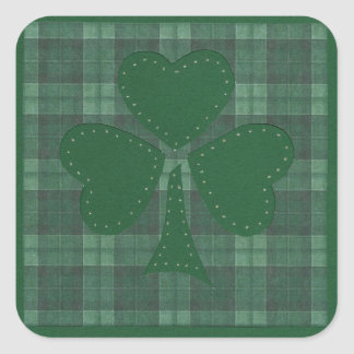 Saint Patrick's Day collage #17 Square Sticker