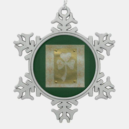 Saint Patrick's Day collage # 20 Ornament