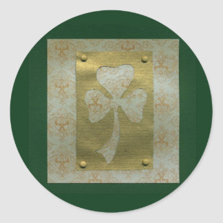 Saint Patrick's Day collage # 20 Round Sticker