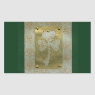 Saint Patrick's Day collage # 20 Rectangular Sticker
