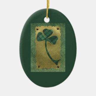 Saint Patrick's Day collage # 21 Ceramic Oval Decoration