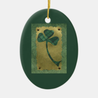 Saint Patrick's Day collage # 21 Ceramic Oval Decoration