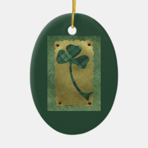 Saint Patrick's Day collage # 21 Ornament