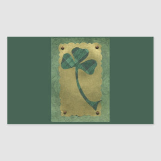 Saint Patrick's Day collage # 21 Rectangular Sticker