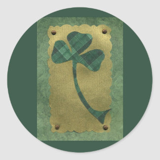Saint Patrick's Day collage # 21 Round Sticker
