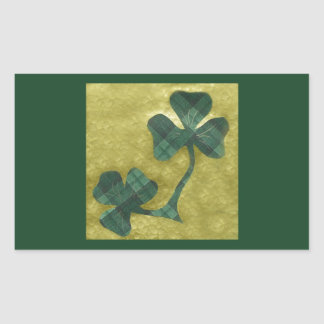 Saint Patrick's Day collage # 22 Rectangular Sticker