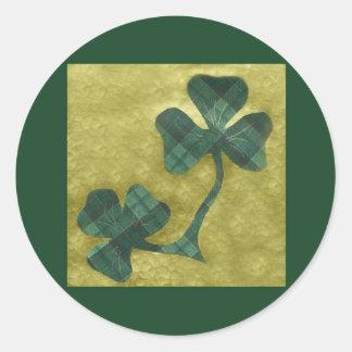 Saint Patrick's Day collage # 22 Round Sticker