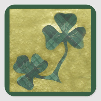 Saint Patrick's Day collage # 22 Square Sticker
