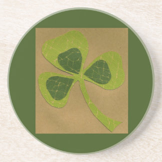 Saint Patrick's Day collage # 23 Coaster