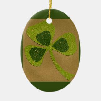 Saint Patrick's Day collage # 23 Ornament