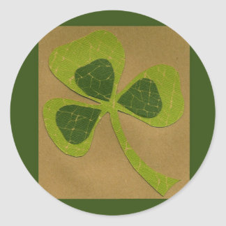 Saint Patrick's Day collage # 23 Round Sticker
