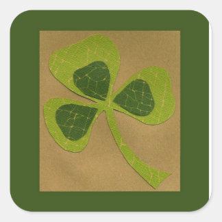 Saint Patrick's Day collage # 23 Square Sticker