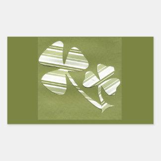 Saint Patrick's Day collage # 24 Rectangular Sticker