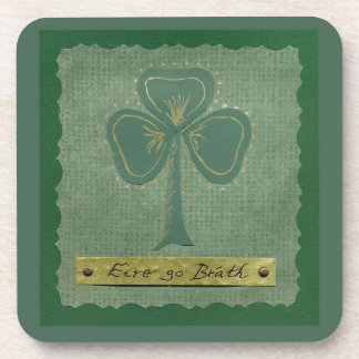 Saint Patrick's Day collage # 25 Beverage Coasters