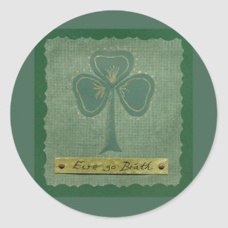 Saint Patrick's Day collage # 25 Round Sticker