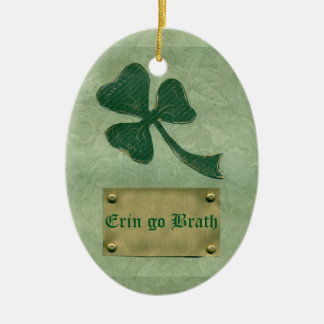 Saint Patrick's Day collage # 26 Ceramic Oval Decoration