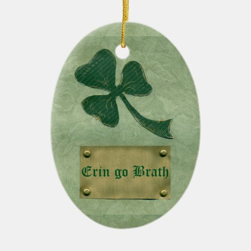 Saint Patrick's Day collage # 26 Christmas Ornaments