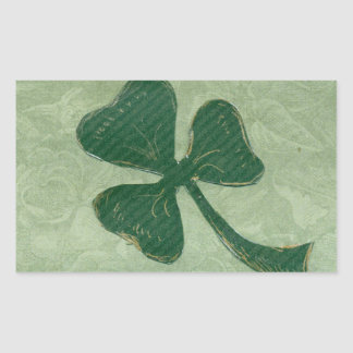 Saint Patrick's Day collage # 26 Rectangular Sticker