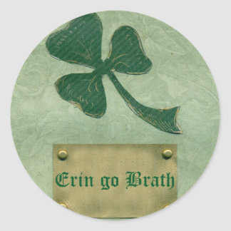 Saint Patrick's Day collage # 26 Round Sticker