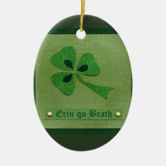 Saint Patrick's Day collage # 27 Ceramic Oval Decoration