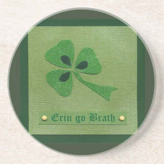 Saint Patrick's Day collage # 27 Beverage Coaster