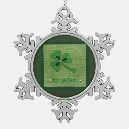 Saint Patrick's Day collage # 27 Ornament