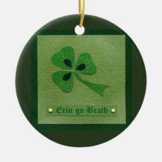 Saint Patrick's Day collage # 27 Christmas Tree Ornament