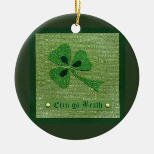 Saint Patrick's Day collage # 27 Christmas Tree Ornament