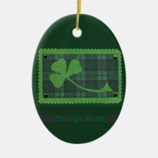 Saint Patrick's Day collage # 28 Ceramic Oval Decoration