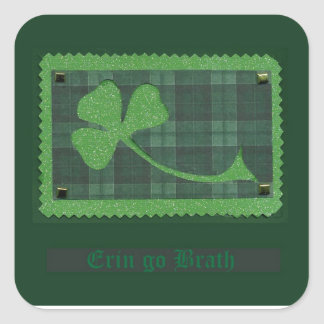Saint Patrick's Day collage # 28 Square Sticker