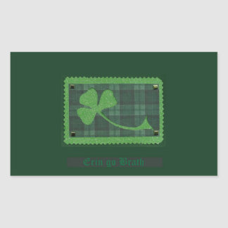Saint Patrick's Day collage # 28 Rectangular Sticker