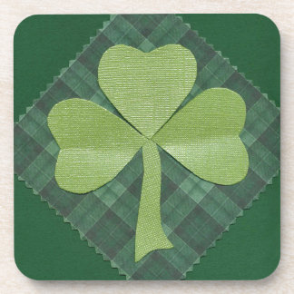 Saint Patrick's Day collage # 2 Beverage Coasters