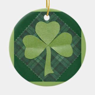 Saint Patrick's Day collage # 2 Ornaments