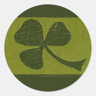 Saint Patrick's Day collage # 30 Round Sticker