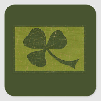 Saint Patrick's Day collage # 30 Square Sticker