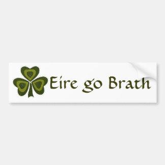 Saint Patrick's Day collage series # 10 Bumper Sticker