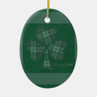 Saint Patrick's Day collage series # 12 Ornament