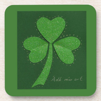 Saint Patrick's Day collage series # 13 Coaster