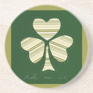 Saint Patrick's day collage series # 14 Coasters