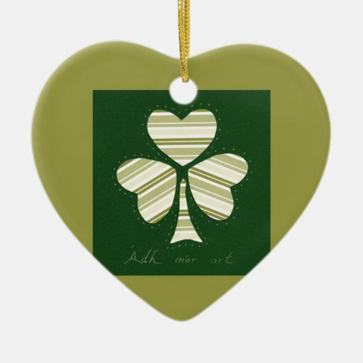 Saint Patrick's day collage series # 14 Christmas Ornaments