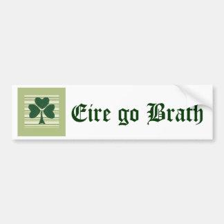 Saint Patrick's day collage series # 15 Bumper Sticker