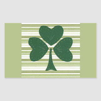 Saint Patrick's day collage series # 15 Rectangular Sticker