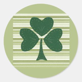 Saint Patrick's day collage series # 15 Round Sticker