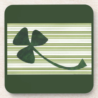 Saint Patrick's Day collage series # 18 Beverage Coaster
