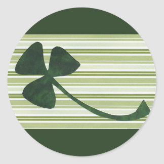 Saint Patrick's Day collage series # 18 Round Sticker