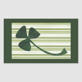 Saint Patrick's Day collage series # 18 Rectangular Sticker