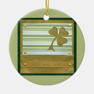 Saint Patrick's Day collage series # 1 Ornaments