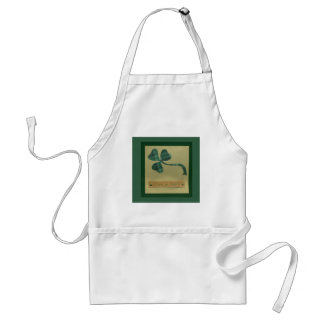Saint Patrick's Day collage series #3 Aprons